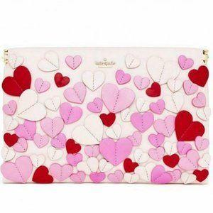 Kate Spade Secret Admirer Pink Hearts purse bag